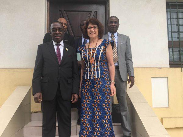 Audience de M. Aka Aouélé, Vice-Président de l'ARDCI et de l'Assemblée Nationale.