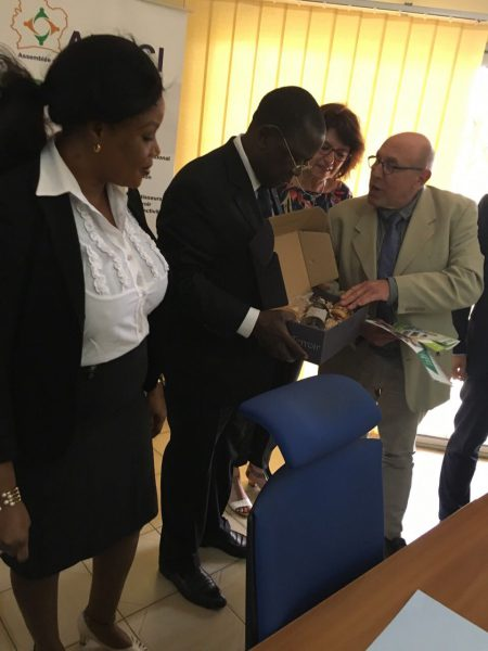 M. le 1er Ministre Ahoussou Jeannot, Président de l'ARDCI