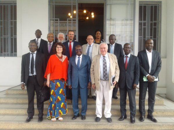 Avec M. Faman Touré, Président de la CCI Côte d'Ivoire