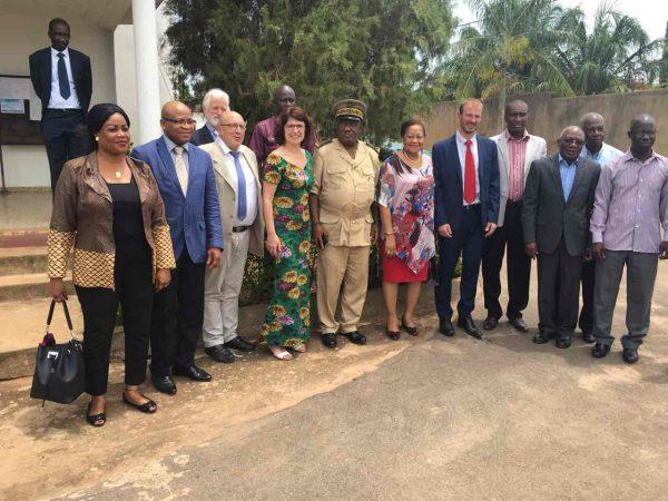 Rencontre avec le Préfet, les autorités régionales et municipales de Toumodi