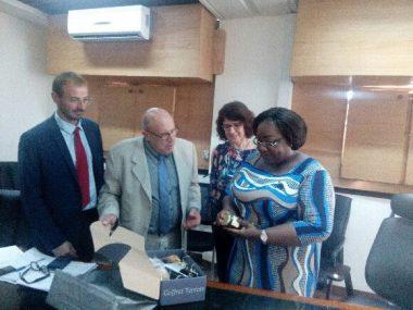 Rencontre de la Ministre de la Salubrité, Mme Anne OULOTO