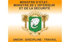 logo ministere intérieur Côte d'Ivoire