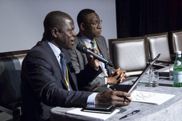 Sylvain Kopoin et Youssouf Sylla
