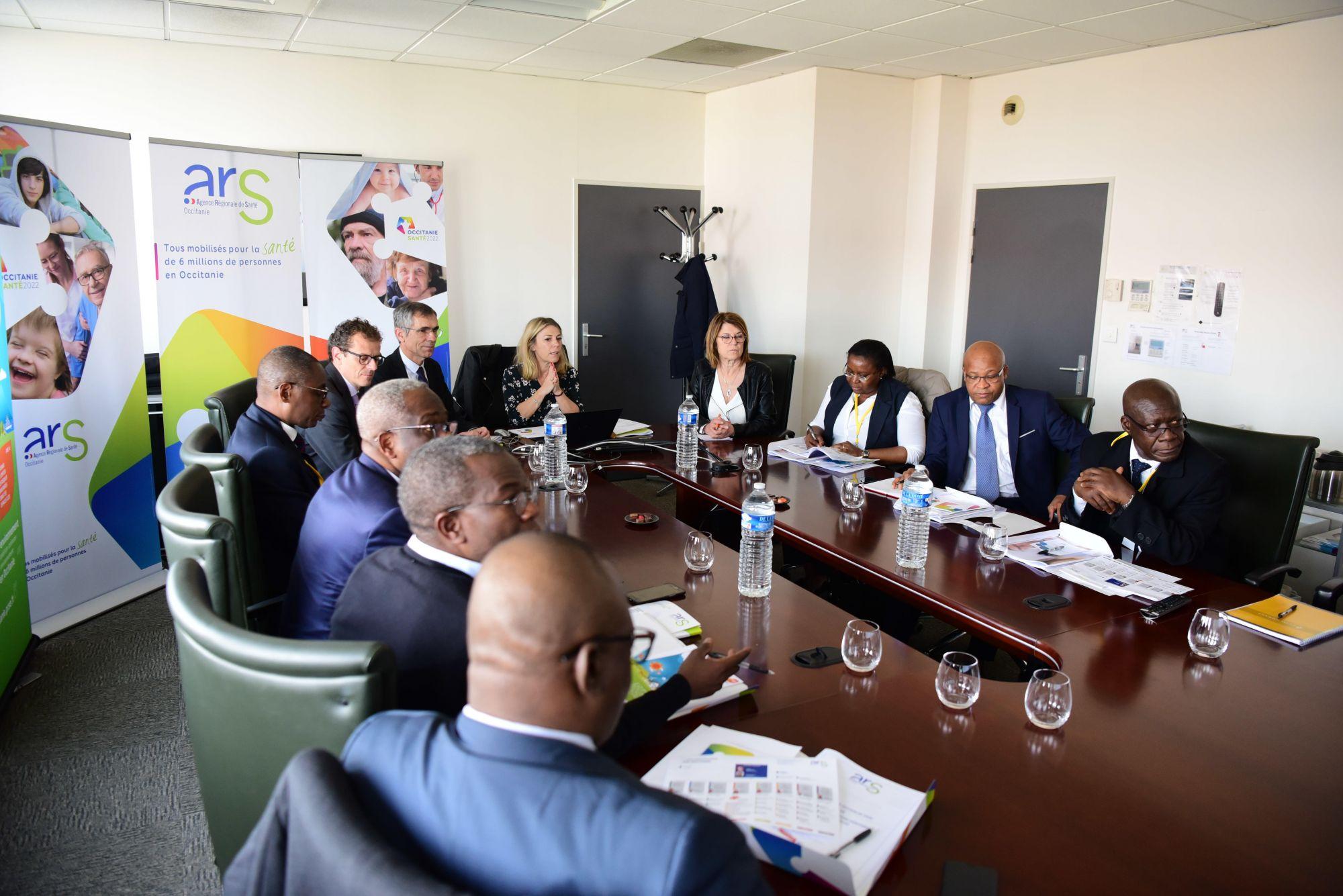 Délégation Ministérielle Ivoirienne de Santé